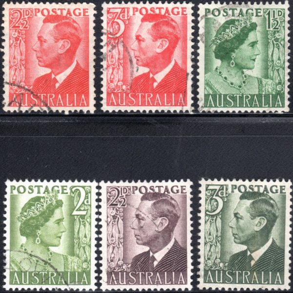 1950-52 King George VI Definitives
