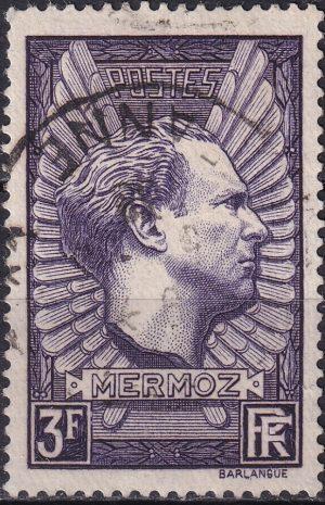 1938 Jean Mermoz Memorial - Violet-grey
