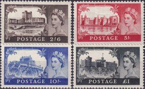 Castles. Watermark Tudor Crown
