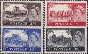 Castles. Watermark St Edward's Crown