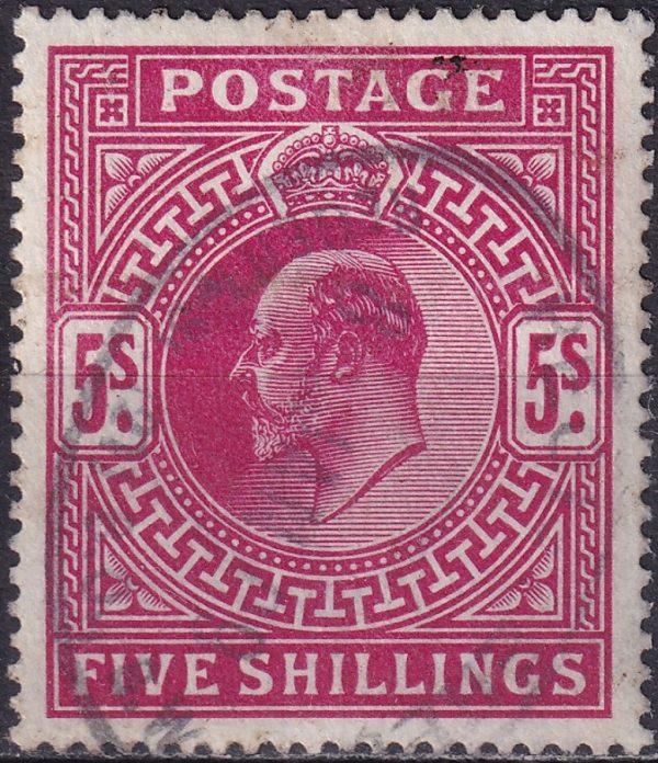 5/- Edward VII