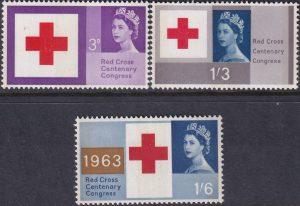 Red Cross. Phosphor Bands