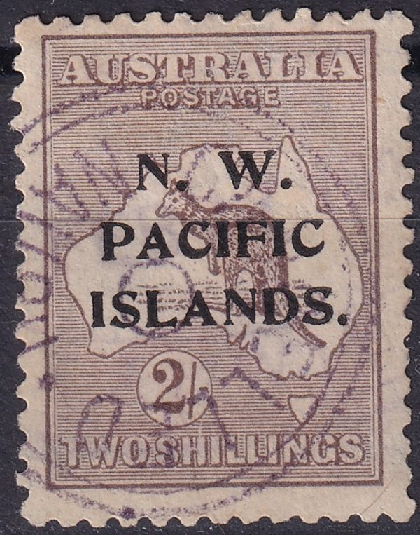 2/- Roo. 3rd Watermark. Unlisted Variety