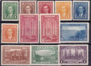 1937-38 Definitives