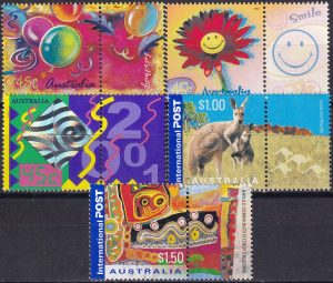 """""""Colour my Day"""" Greetings Stamps"""