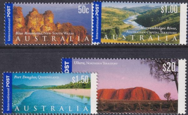 Views of Australia. International Stamps.