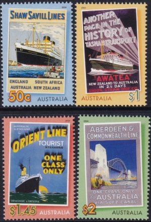 """Bon Voyage"". Ocean Liners"
