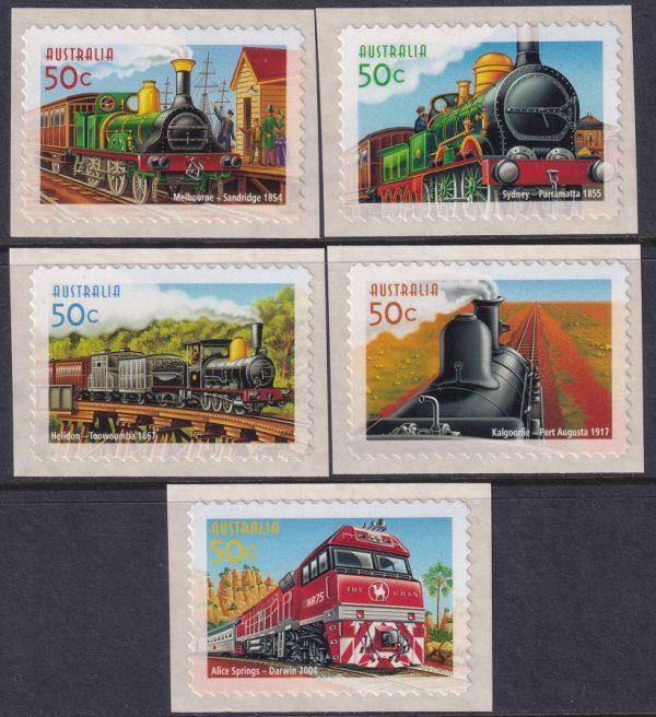 150th Anniversary of Australian Railways - Self Adhesives