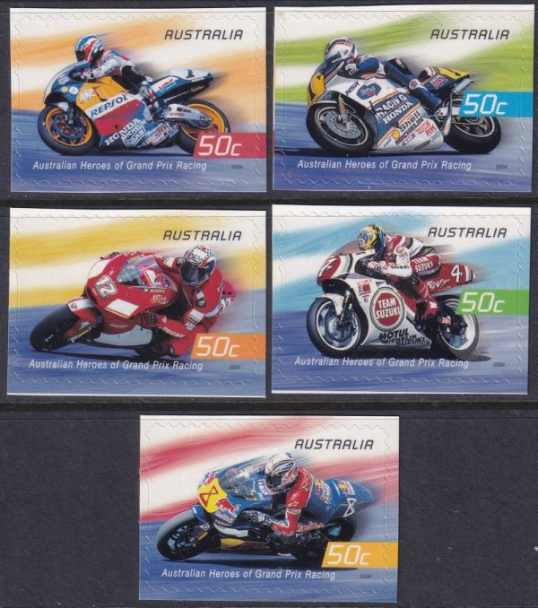 Heroes of Grand Prix Motorcycle Racing - Self Adhesives