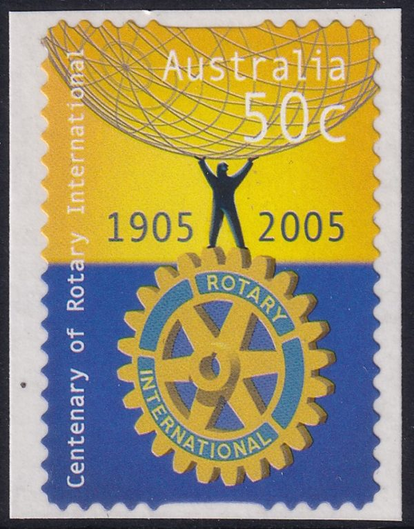 Centenary of Rotary International - Self Adhesive