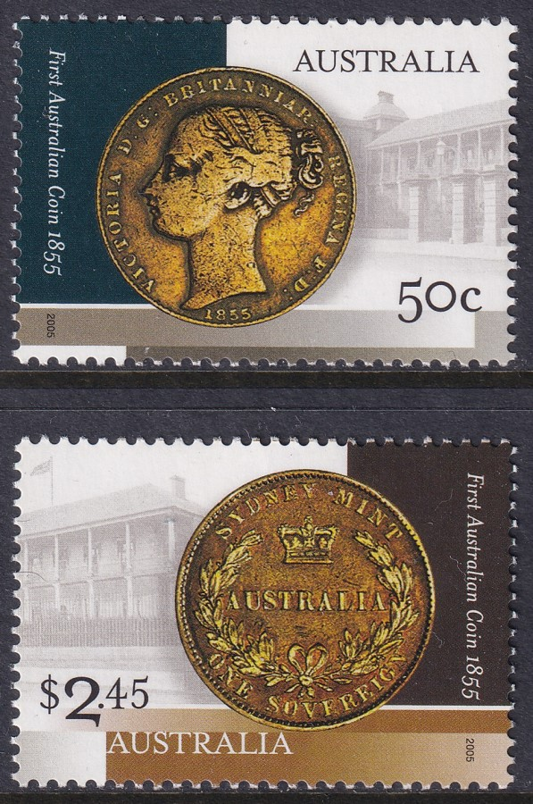 150th Anniversary of First Australian Coin