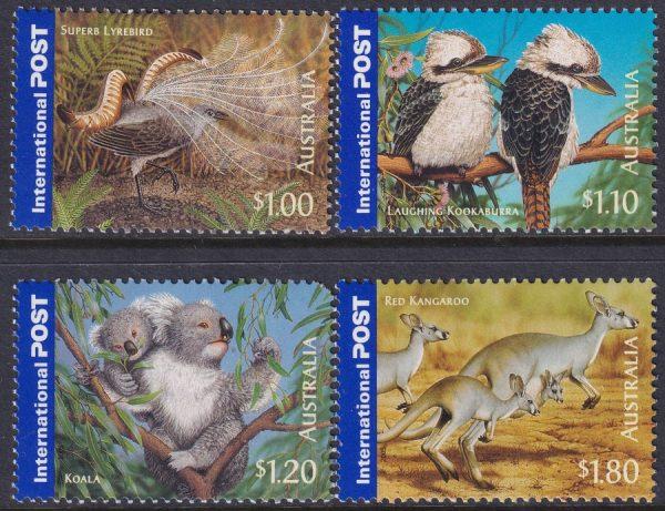 Bush Wildlife International Stamps