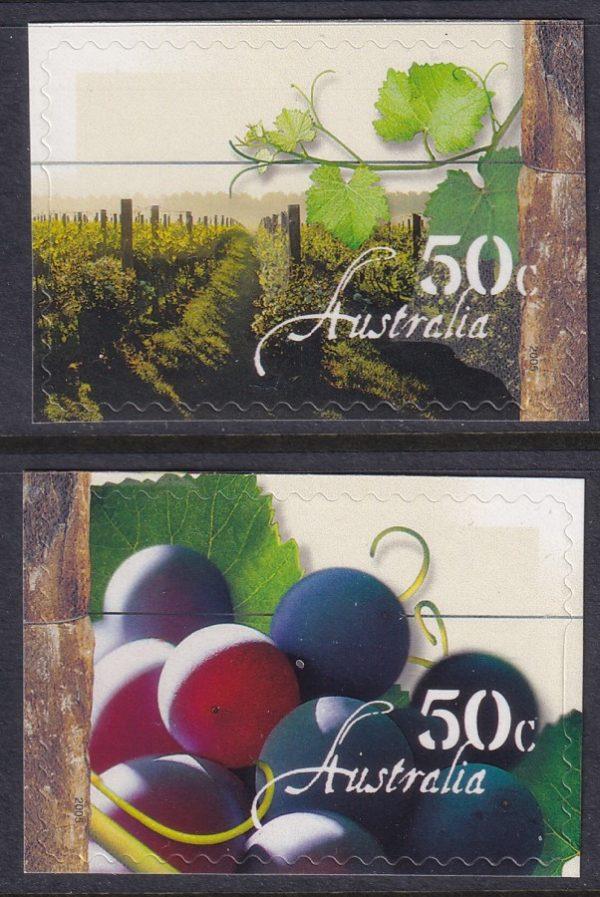 Australian Wine - Self Adhesives