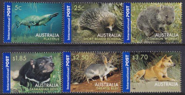 Native Wildlife. International Stamps