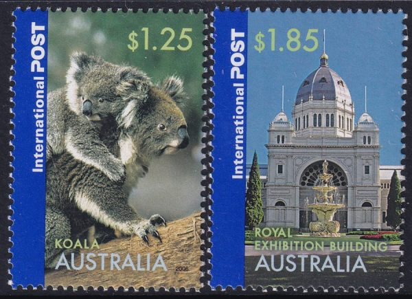 Greetings from Australia. International Stamps