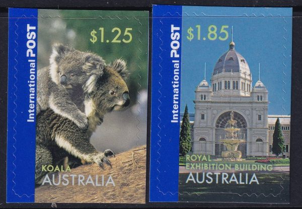 Greetings from Australia. International Stamps - Self Adhesives