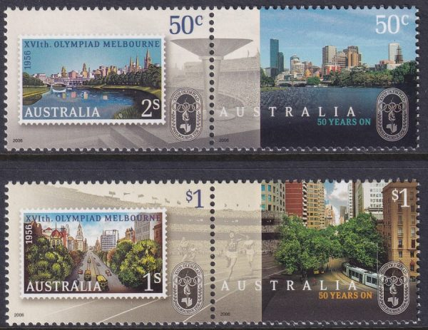 50th Anniversary of Olympic Games, Melbourne