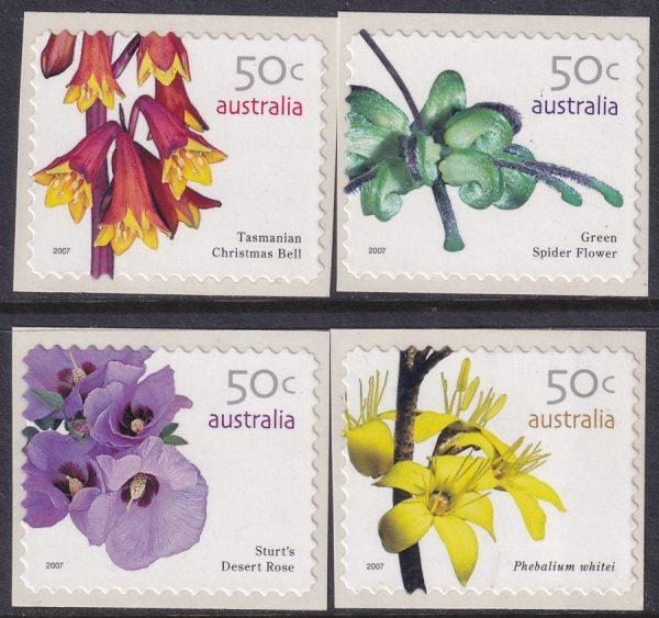 Australian Wildflowers (3rd series) - Self Adhesives