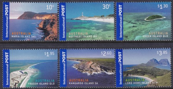 Island Jewels. International Stamps