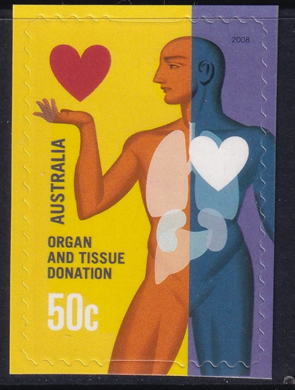 Organ and Tissue Donation - Slef Adhesive