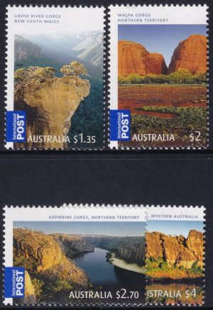 """Georgeous Australia"". International Stamps"