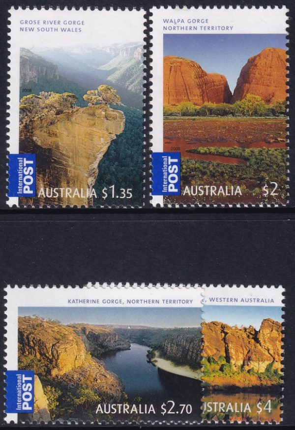 """Georgeous Australia"". International Stamps"