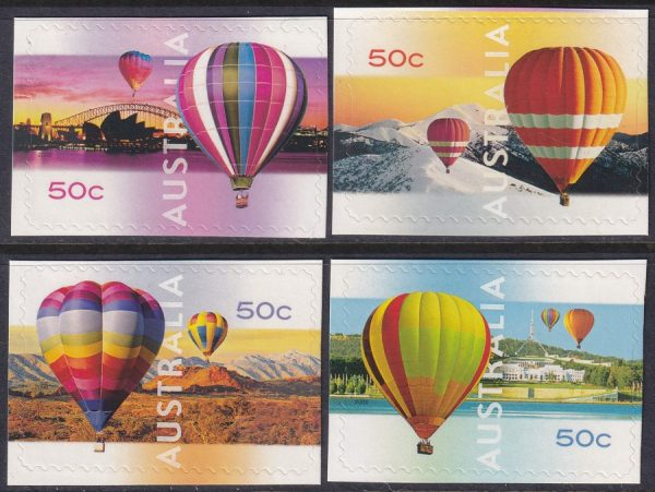 150th Anniversary First Balloon Flight in Australia - Self Adhesives