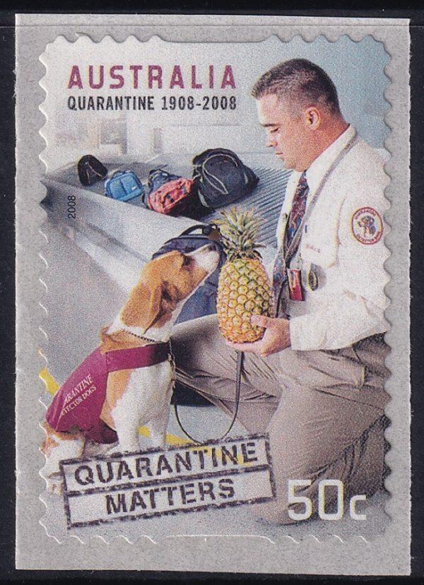 Centenary of the Quarantine Act - Self Adhesive