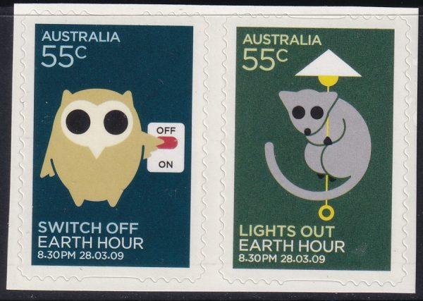 Earth Hour - Self Adhesives