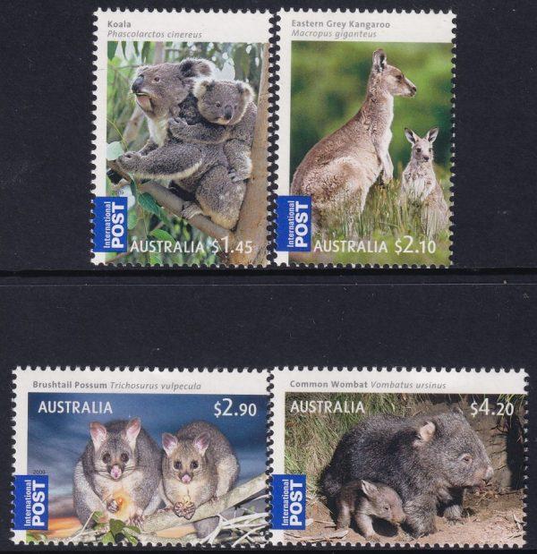 Australian Bush Babies. International Stamps