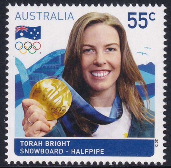 Australian Gold Medallist - Torah Bright