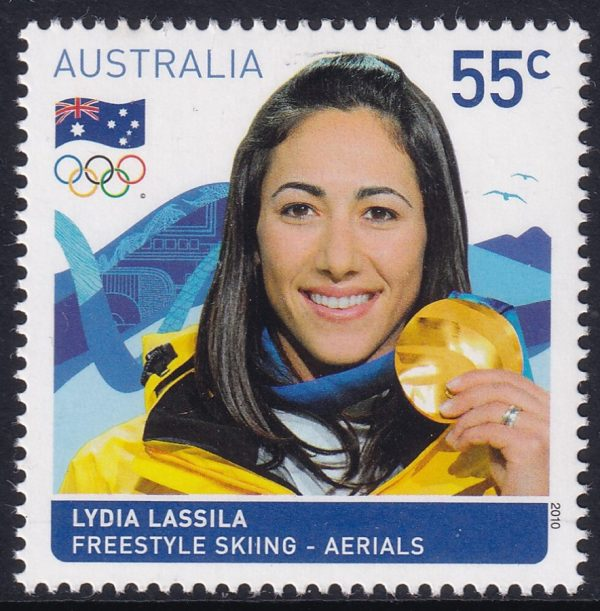 Australian Gold Medallist - Lydia Lassila