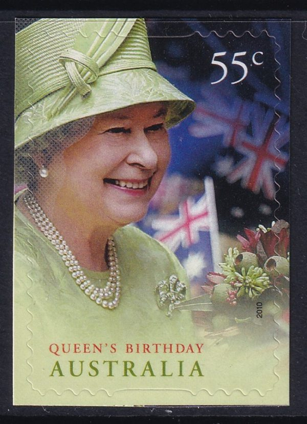 Queen Elizabeth II Birthday - Self Adhesive
