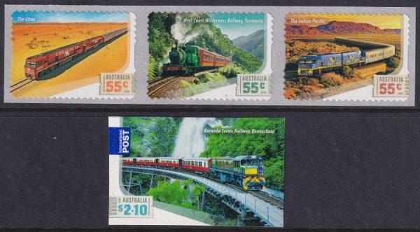 Great Australian Railway Journeys - Self Adhesives