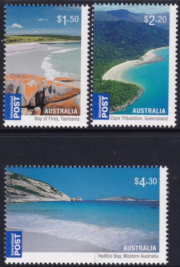 Australian Beaches. International Stamps