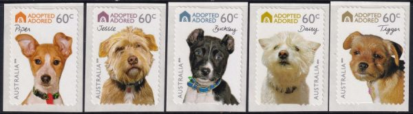 Adopted and Adored Dogs - Self Adhesives