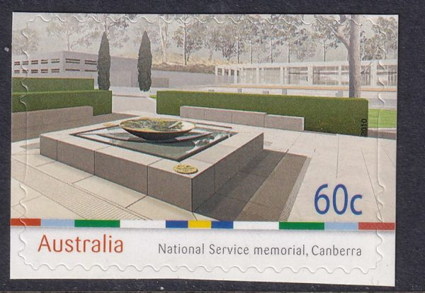 National Service Memorial, Canberra - Self Adhesive