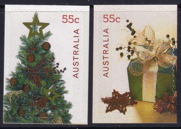 Christmas - Self Adhesives with silver foil