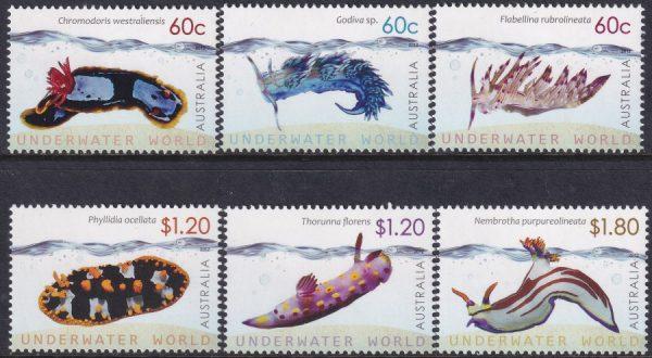 Underwater World. Nudibranchs