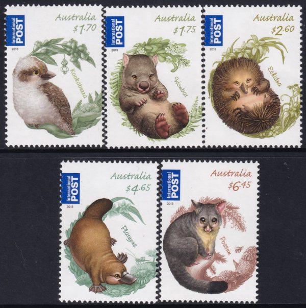 Bush Babies International Stamps