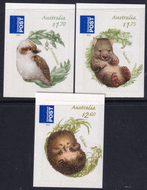 Bush Babies International Stamps - Self Adhesives
