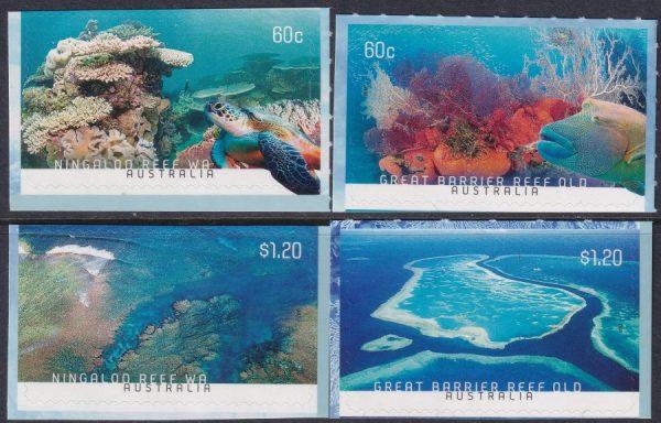 Coral Reefs - Self Adhesives