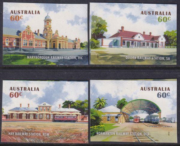 Historic Railway Stations - Self Adhesives