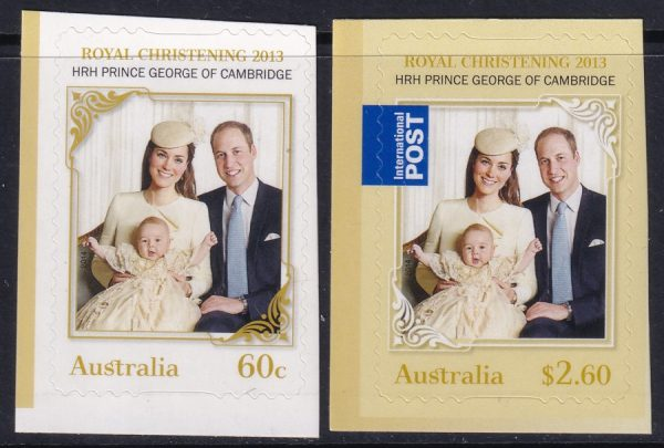 Royal Christening - Self Adhesives