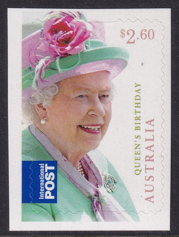 Queen Elizabeth II's Birthday - Self Adhesive