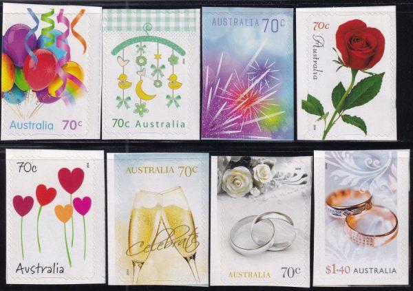 Greetings Stamps - Self Adhesives