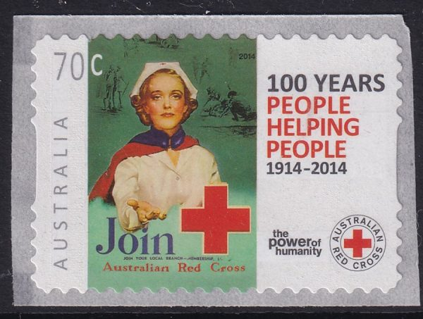 Centenary of Australian Red Cross - Self Adhesives