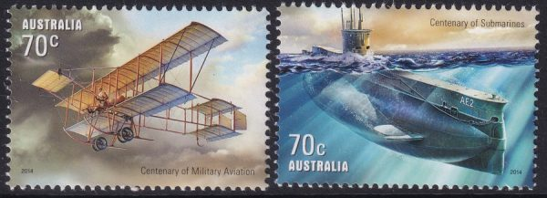 Centenary of Military Aviation and Submarines