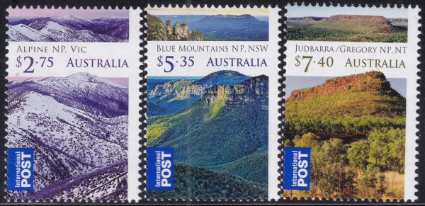 Wilderness Australia. International Stamps