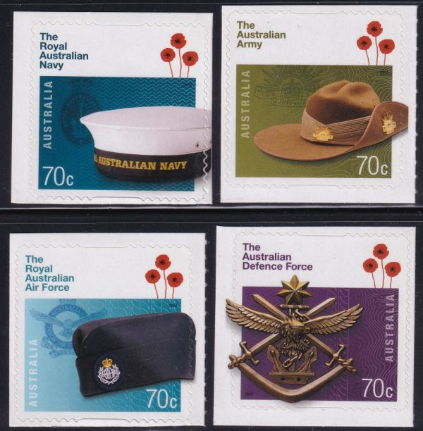 Centenary of the Australian Defence Force - Self Adhesives